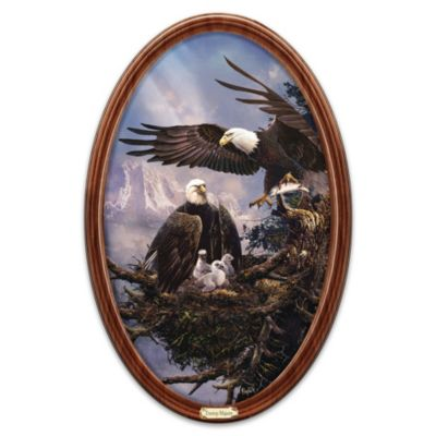 Treetop Majesty Collector Plate