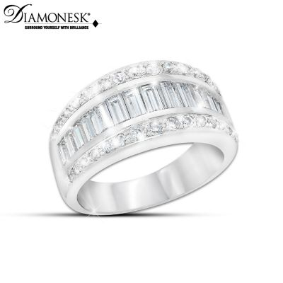Diamonesk Delight Ring