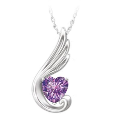 Touch Of An Angel Pendant Necklace