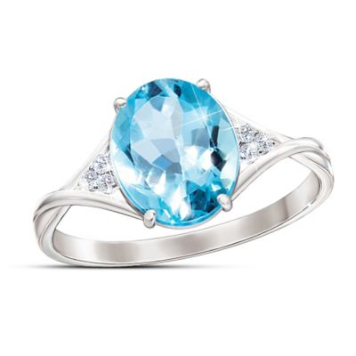 True Blue Ring