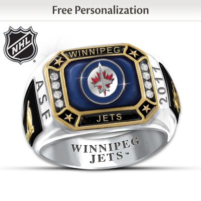 Winnipeg Jets™ Personalized Ring