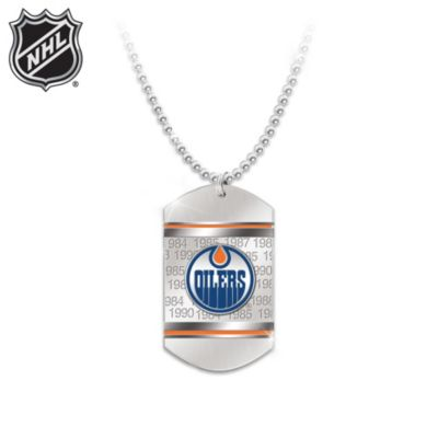Edmonton Oilers® Pendant Necklace