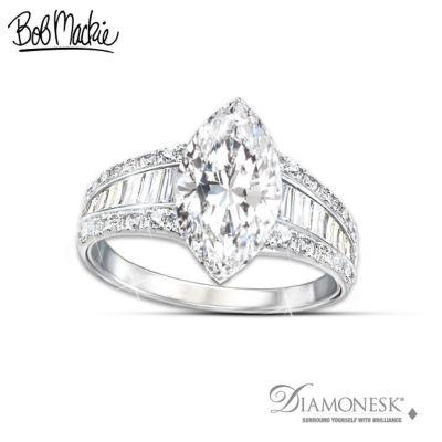 Bob Mackie Art Deco Diamonesk Ring
