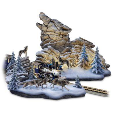 Wolf Mountain Pass Sculpture Set