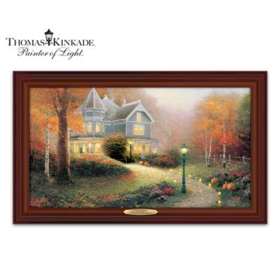 Thomas Kinkade Autumn Blessings Wall Decor
