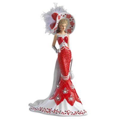 Lady Red Figurine