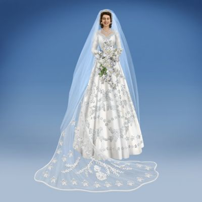 Princess Elizabeth, The Royal Bride Handcrafted Figurine