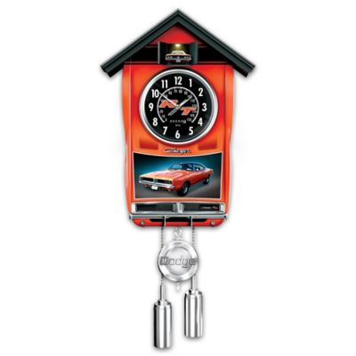 Dodge Charger Cuckoo Clock