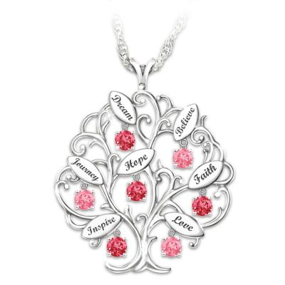 Tree Of Hope Pendant Necklace