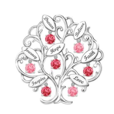 Tree Of Hope Brooch