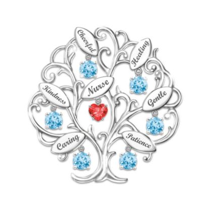 Tree Of Compassion Brooch