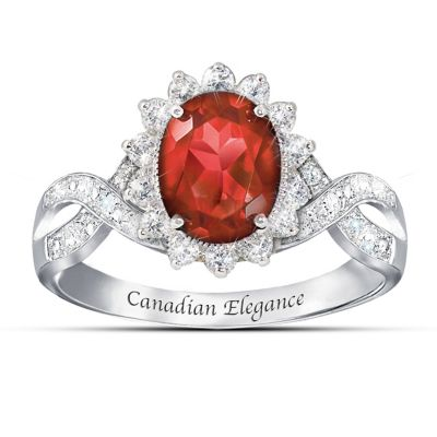 Canadian Elegance Ring