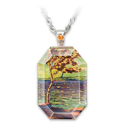 Winter Bay Pendant Necklace