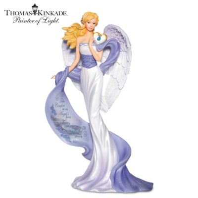 Thomas Kinkade Memories Of Comfort Figurine