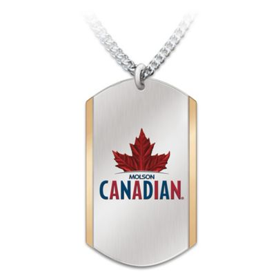 Molson Canadian Pendant Necklace