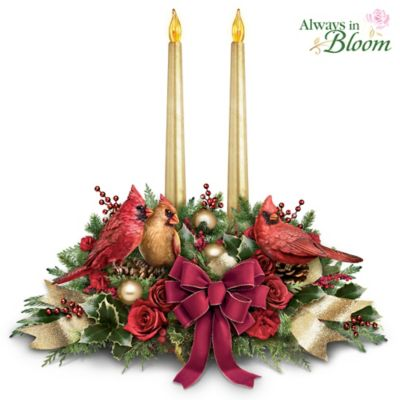 The Spirit Of The Season Table Centrepiece