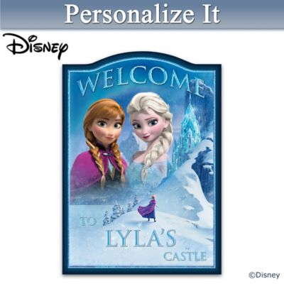 Disney FROZEN Personalized Welcome Sign