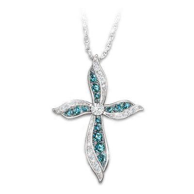 Heavenly Grace Diamond Pendant Necklace