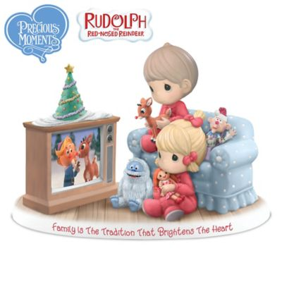 Family Is The Tradition That Brightens The Heart Figurine