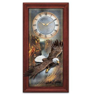 Majestic Flight Wall Clock