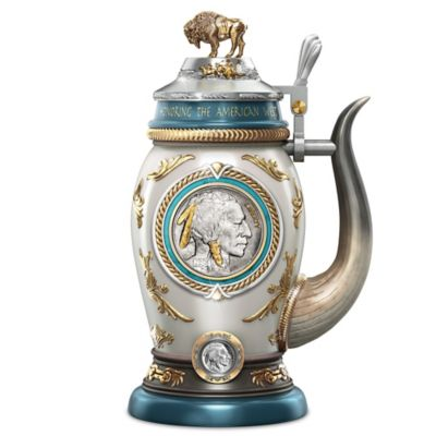 Buffalo Nickel Stein