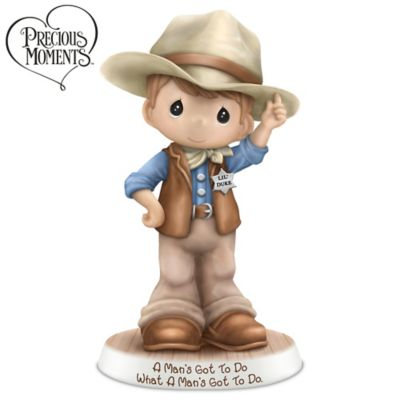 A Man's Got To Do, What A Man's Got To Do Figurine