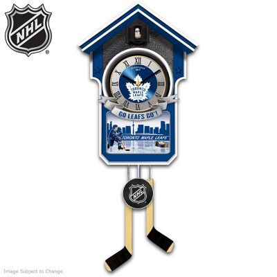 Toronto Maple Leafs® Cuckoo Clock