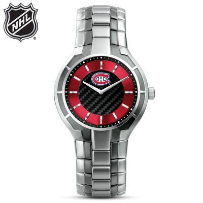 Montreal Canadiens® Carbon Fiber Men's Watch