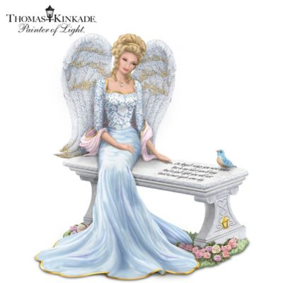 Thomas Kinkade Heaven's Embrace Figurine