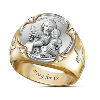 Prayer To St. Joseph Ring