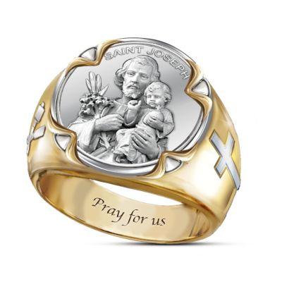 Prayer To St. Joseph Ring