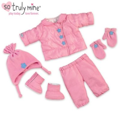 Snow Adorable Baby Doll Accessory Set