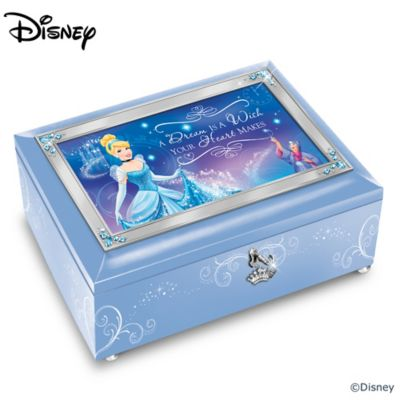 Disney A Dream Is A Wish Your Heart Makes Music Box