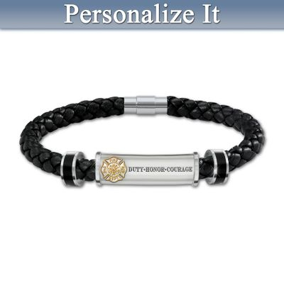 Firefighter's Brotherhood Of Honour Personalized Bracelet