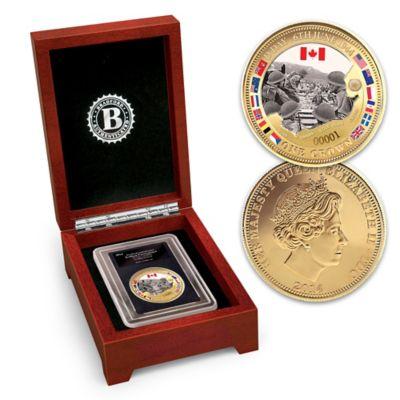D-Day Landings Coin