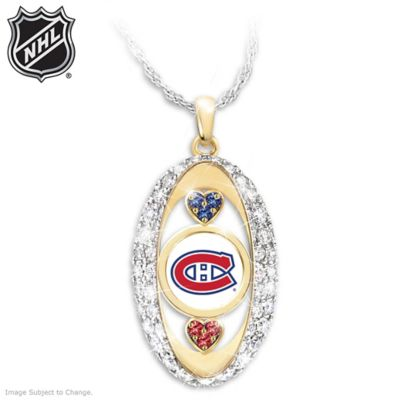 For The Love Of The Game Canadiens® Pendant Necklace