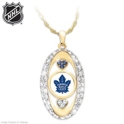 For The Love Of The Game Maple Leafs® Pendant Necklace