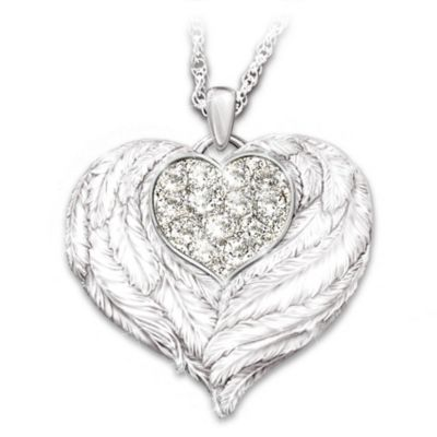 Wings Of Love Pendant Necklace
