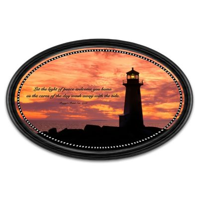 Light Of Peace Collector Plate