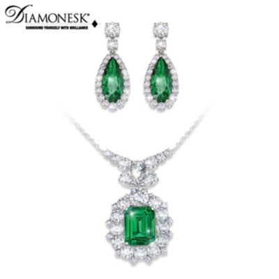 Hollywood Romance Necklace & Earrings Set