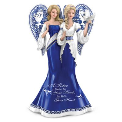 A Sister Reaches For Your Hand But Holds Your Heart Figurine