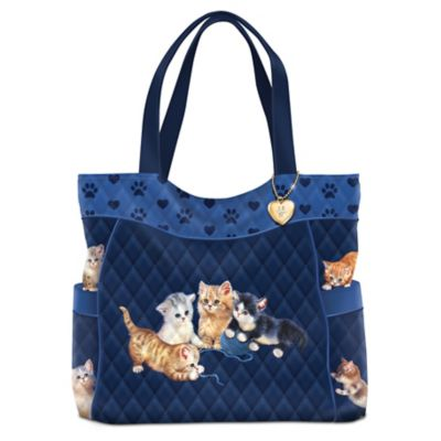 Kitty-Kat Cute Tote Bag