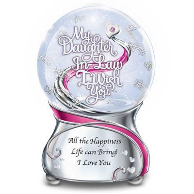 My Daughter-In-Law, I Wish You Glitter Globe
