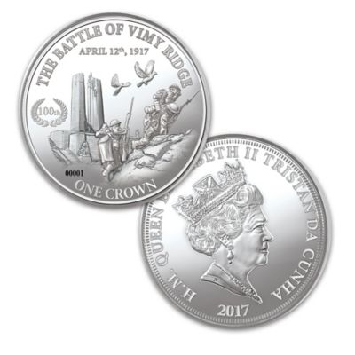 The Battle Of Vimy Ridge Coin