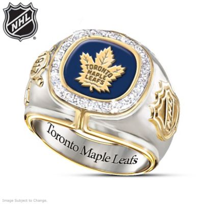 Toronto Maple Leafs® Diamond Ring