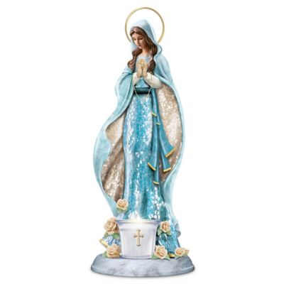 Blessed Mary Mosaic Sculpture