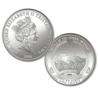 Battle Of The Somme Centennial Coin