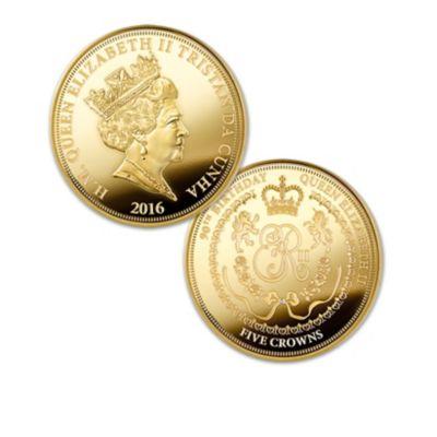 The Queen Elizabeth II Five Crowns Coin