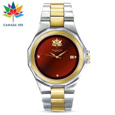 Canada's 150th Anniversary Diamond Men's Watch