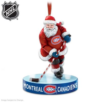 He Shoots, He Scores Montreal Canadiens® Ornament